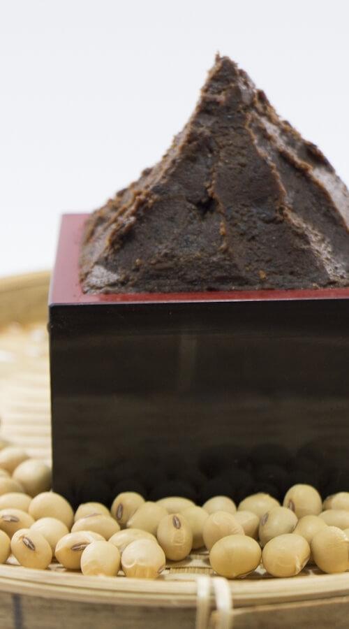 Dark Red Soybean Miso(Hatcho miso)