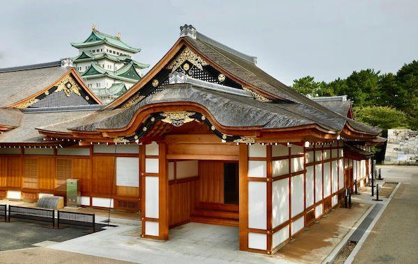 本丸御殿と名古屋城