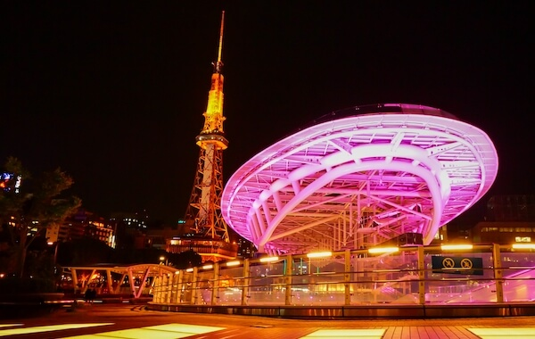 Oasis21 and Nagoya Television Tower
