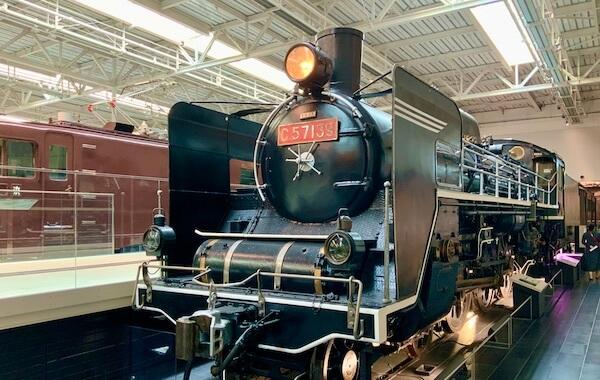 Class C57 Stream Locomotive