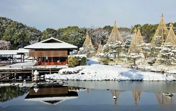 Winter Shirotori Garden