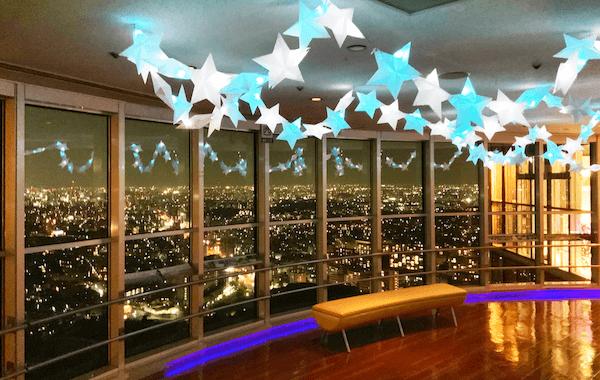 東山スカイタワーからの夜景