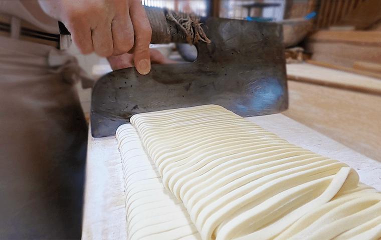 handmade Nagoya noodles
