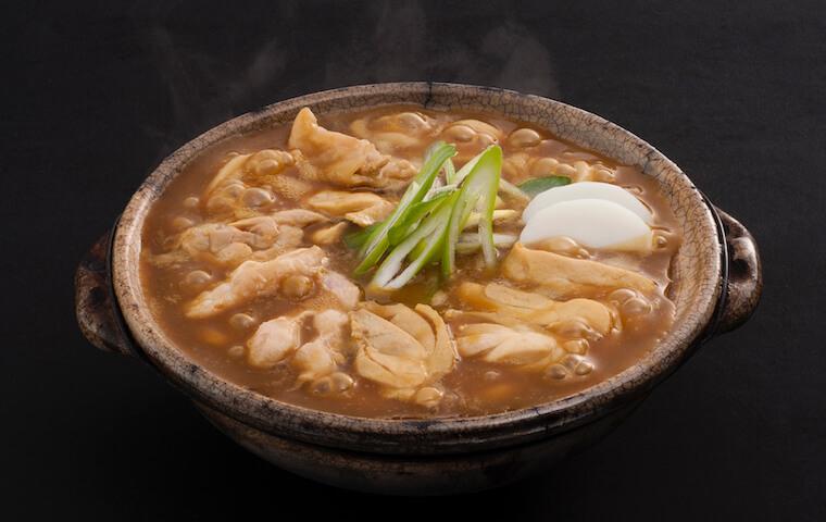 Stewed Chicken Curry Udon