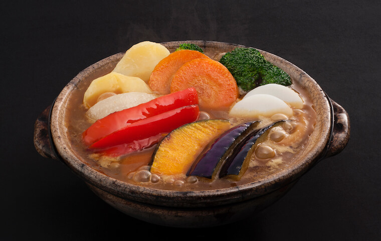 Stewed Vegetables Curry Udon